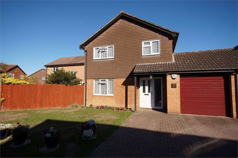 4 Bedrooms Link Detached House for sale in Brompton Close, Lower Earley, READING, Berkshire