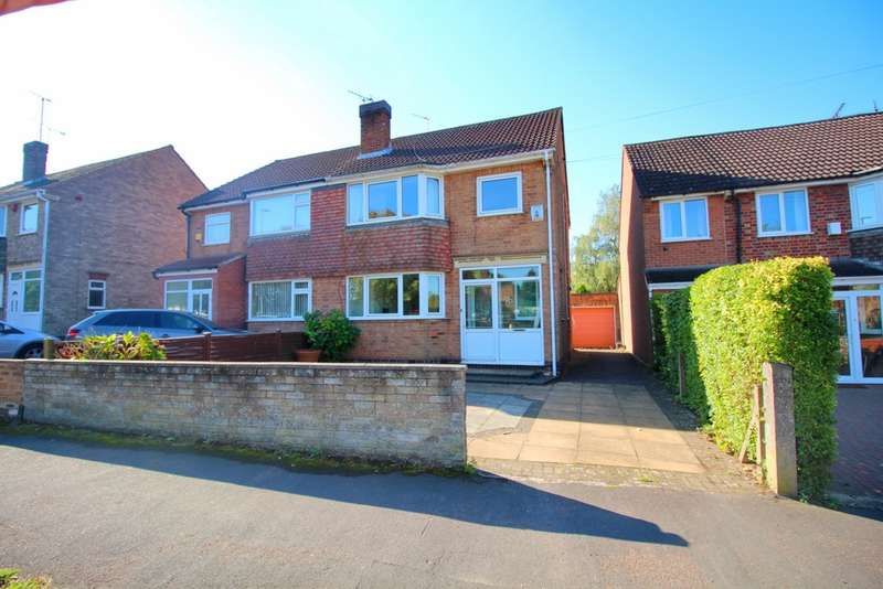 3 Bedrooms Semi Detached House for sale in Whitehall Road, Leicester, LE5