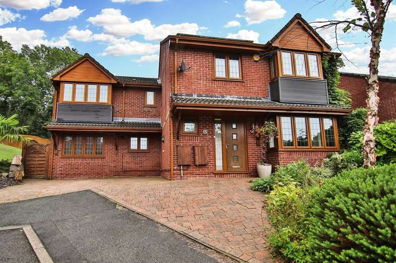 5 Bedrooms Detached House for sale in Dorallt Close, Henllys, Cwmbran