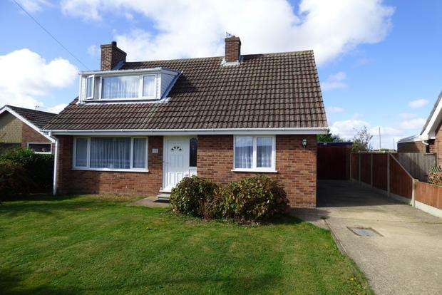 3 Bedrooms Detached Bungalow for sale in Tylers Close, Chapel St. Leonards, Skegness, PE24