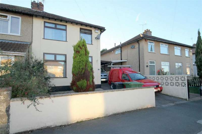 3 Bedrooms Semi Detached House for sale in Burley Grove, Downend, Bristol
