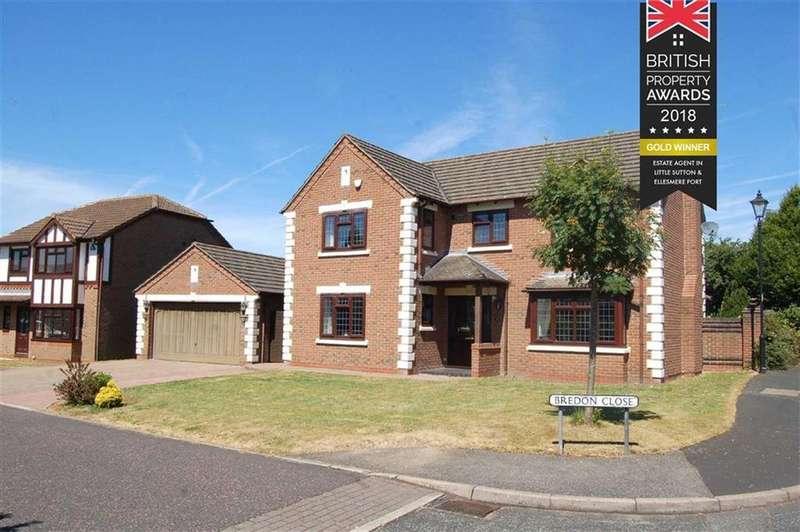 4 Bedrooms Detached House for sale in Bredon Close, Great Sutton, Ellesmere Port