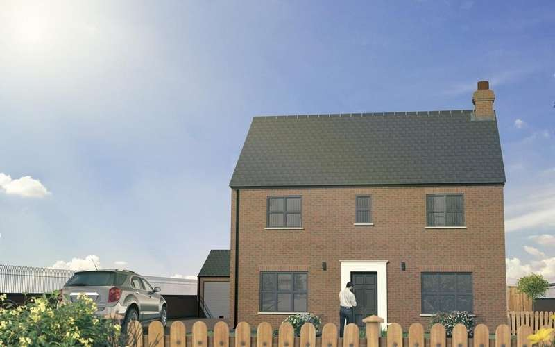 4 Bedrooms Detached House for sale in The Cedar, Plot 7, Westfield Park, Louth