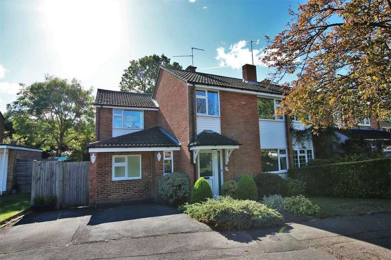 5 Bedrooms Semi Detached House for sale in 42 Holmes Crescent, WOKINGHAM, Berkshire