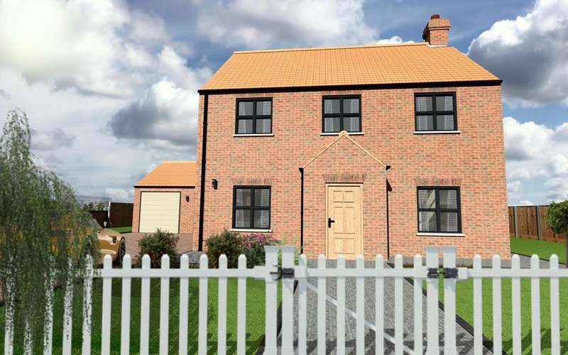 4 Bedrooms Detached House for sale in The Aspen, Plot 6, Westfield Park, Louth