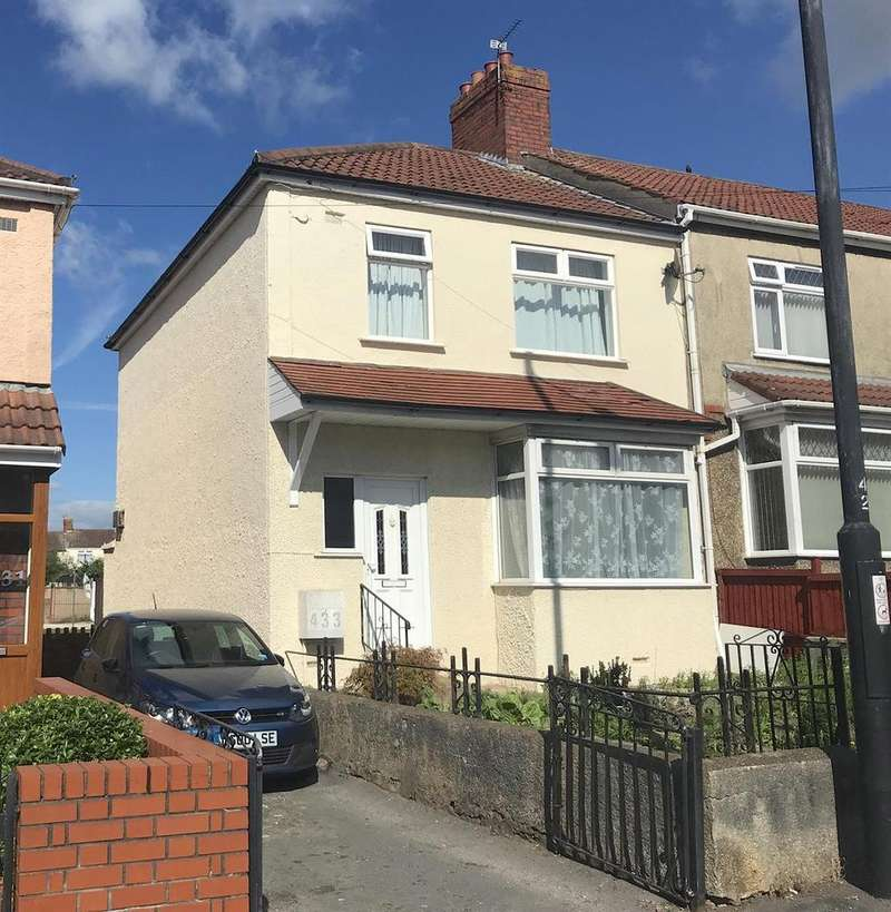 3 Bedrooms End Of Terrace House for sale in Speedwell Road, Speedwell, Bristol, BS15 1ER