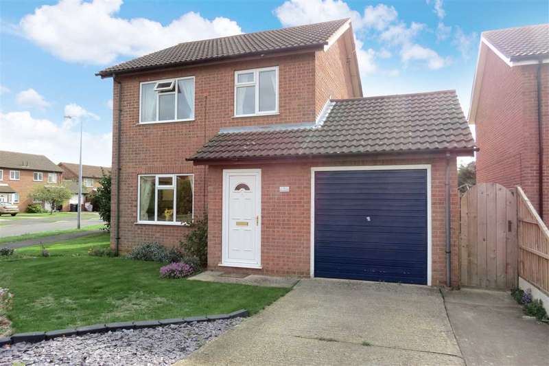 3 Bedrooms Detached House for sale in Rosewood Drive, Sleaford