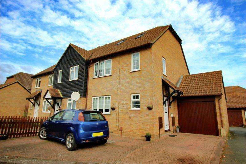 4 Bedrooms Semi Detached House for sale in Coombe Close, Snodland