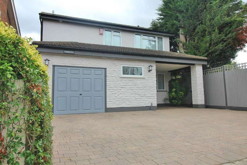 4 Bedrooms Detached House for sale in Stafford Close, Cheshunt, Herts EN8