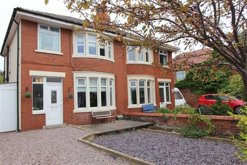 3 Bedrooms Semi Detached House for sale in Moorland Road, Lytham St Annes, Lancashire
