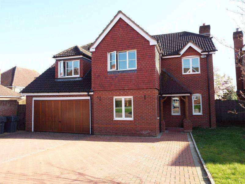 5 Bedrooms Detached House for sale in Greyfriars Drive, Bromsgrove, B61 7LF