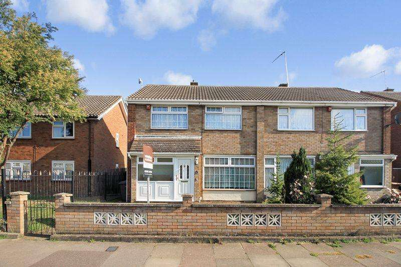 3 Bedrooms Semi Detached House for sale in Clydesdale Road, Luton