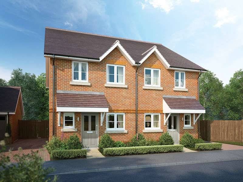 2 Bedrooms Semi Detached House for sale in Oaks Meadow, West End, Woking, Surrey, GU24