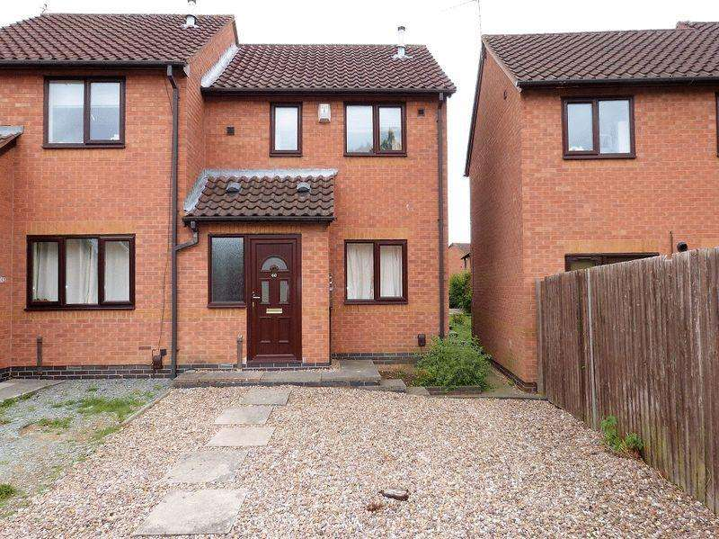 2 Bedrooms Semi Detached House for sale in St Columba Way, Syston