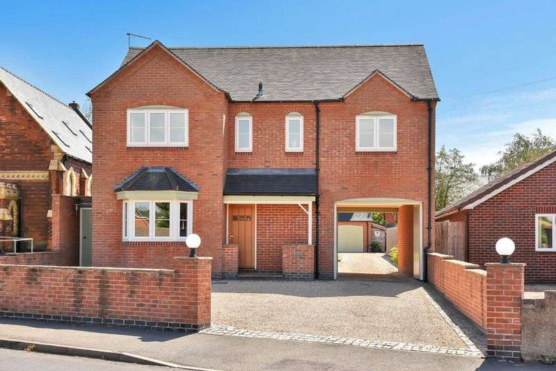 5 Bedrooms Detached House for sale in Hartshorne, Swadlincote, Derbyshire