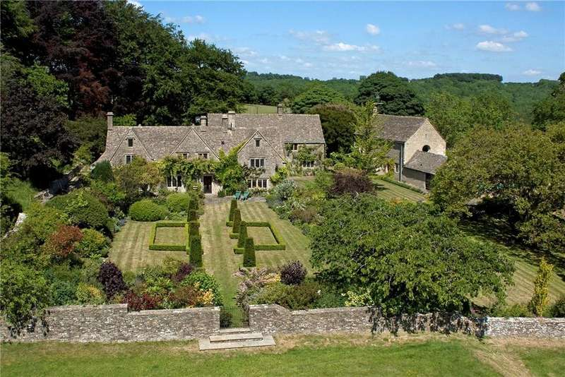 7 Bedrooms Detached House for sale in Bisley, Nr Cirencester, Gloucestershire, GL6