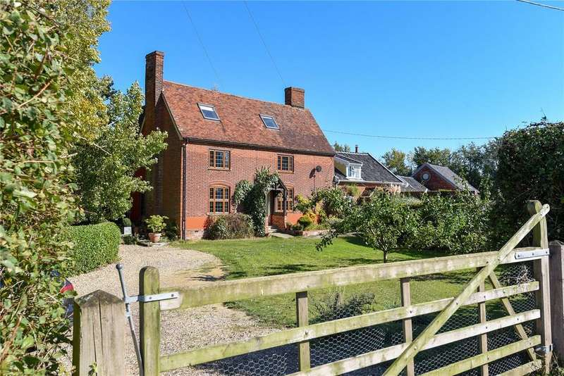5 Bedrooms House for sale in Bury Road, Thorpe Morieux, Bury St Edmunds, Suffolk, IP30