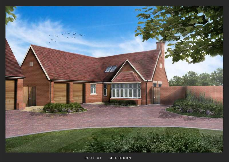3 Bedrooms Detached Bungalow for sale in Plot 31, Victoria Heights, Melbourn