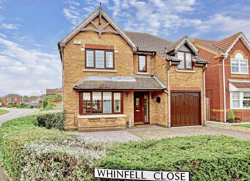 3 Bedrooms Detached House for sale in Whinfell Close, Stukeley Meadows, Huntingdon.