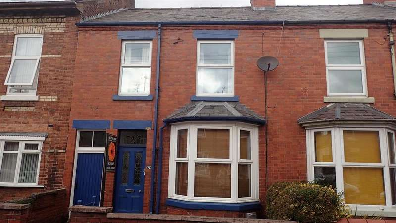 3 Bedrooms House for sale in Cunliffe Street, Wrexham