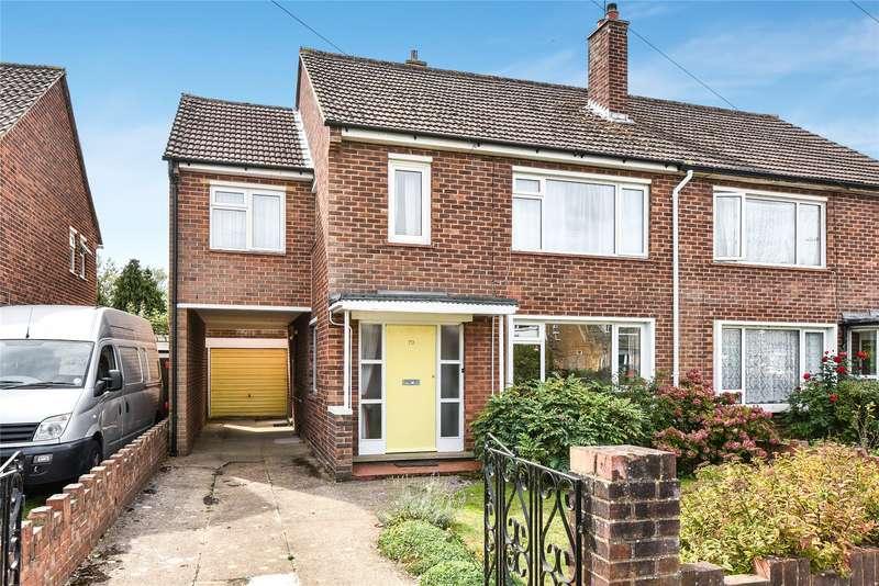 4 Bedrooms Semi Detached House for sale in Summerleaze Road, Maidenhead, Berkshire, SL6