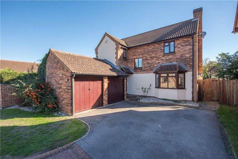 4 Bedrooms Detached House for sale in Vicarage Lane, Wilstead, Bedfordshire