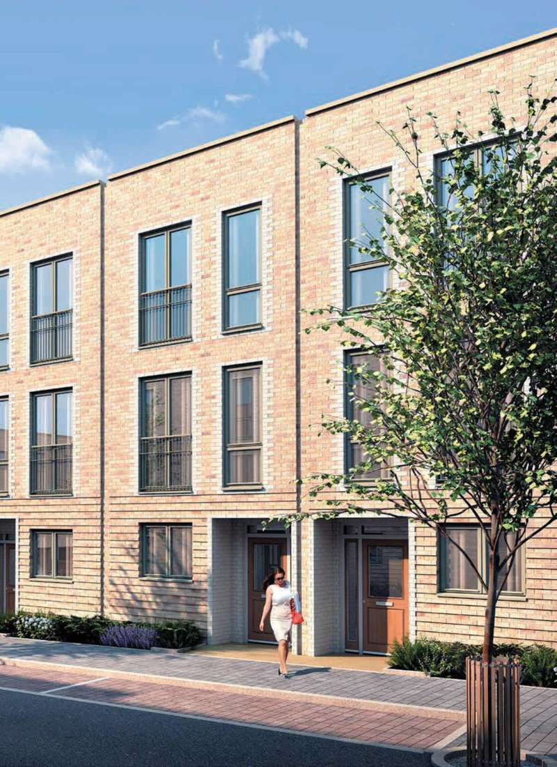 2 Bedrooms Flat for sale in Trinity Square, Colindale, NW9