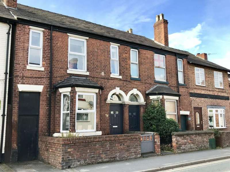 3 Bedrooms End Of Terrace House for sale in Station Road, Northwich