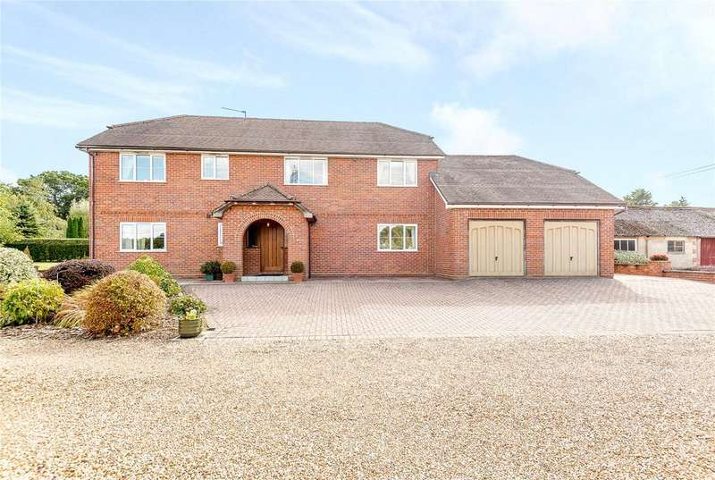 4 Bedrooms Detached House for sale in Chalky Lane, Dogmersfield, Hook, Hampshire