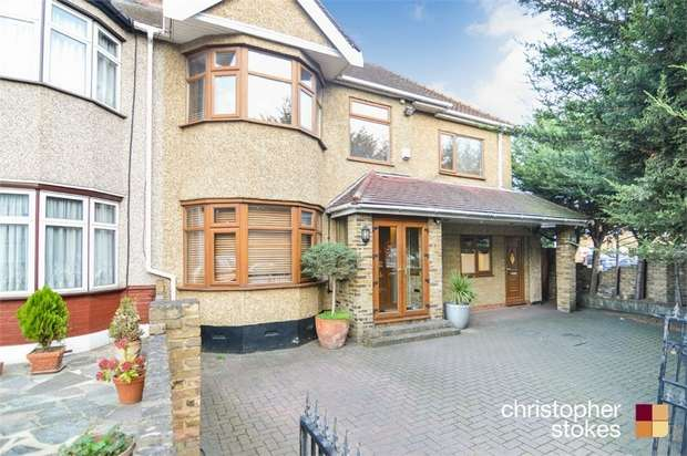 4 Bedrooms End Of Terrace House for sale in Bullsmoor Ride, WALTHAM CROSS, Middlesex