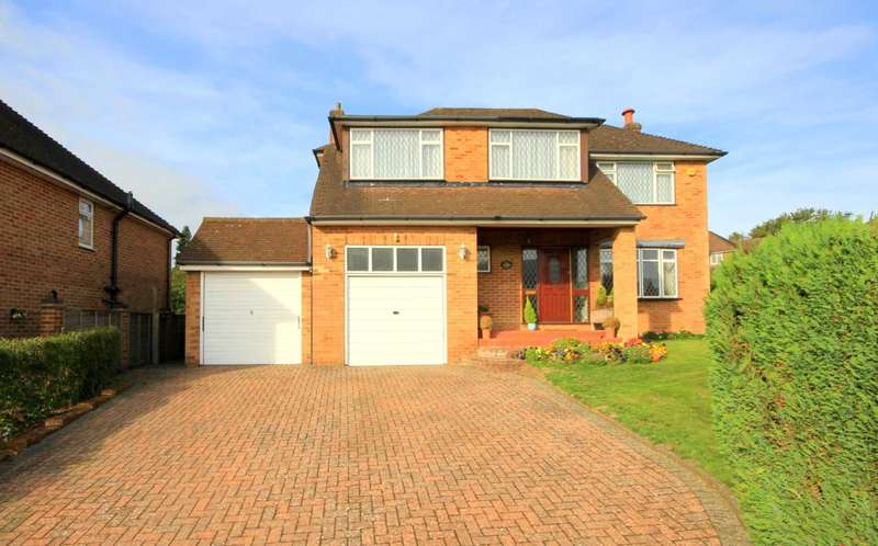 4 Bedrooms Detached House for sale in DETACHED 4 DOUBLE BED WITH A CORNER PLOT GARDEN IN HIGHLY SOUGHT AFTER LOCATION