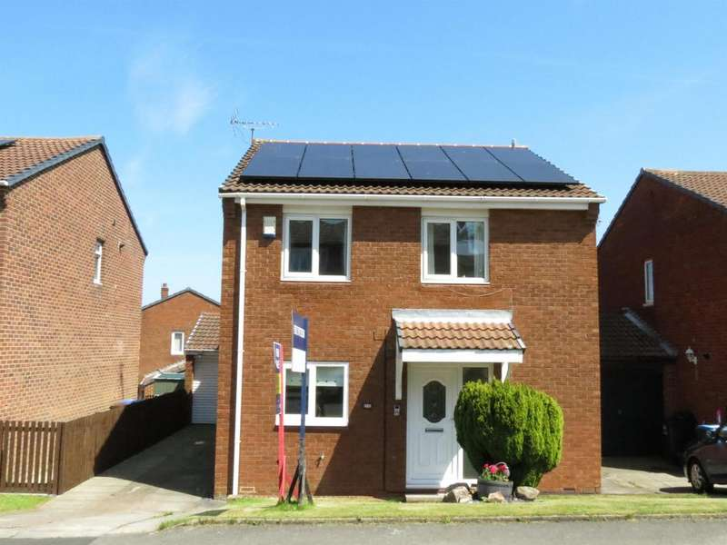 4 Bedrooms Detached House for sale in Dilston Close, Peterlee, Durham, SR8 1NA