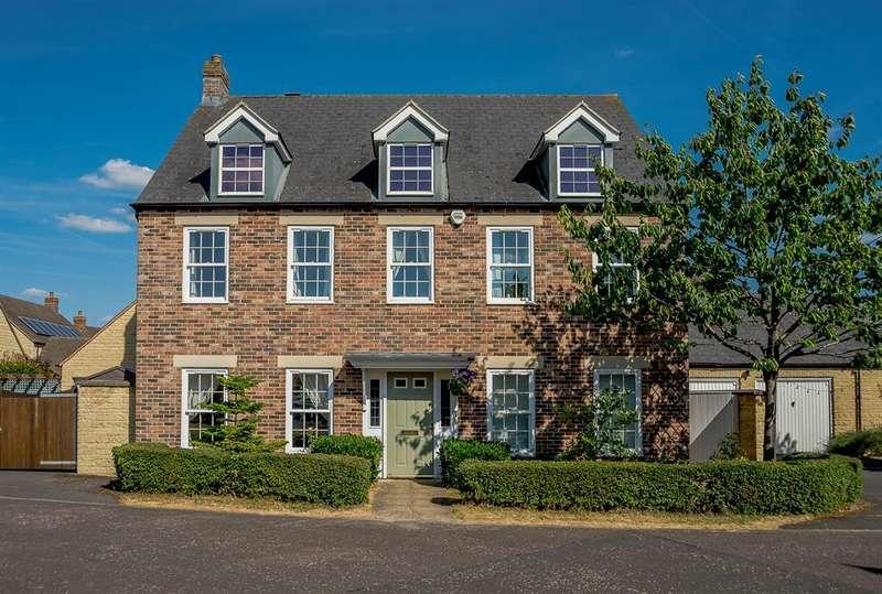 4 Bedrooms Detached House for sale in Harvest Crescent, Carterton, OX18 1FF