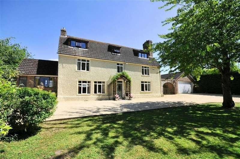 5 Bedrooms Link Detached House for sale in Parton Road, Churchdown, Gloucester, GL3 2JG
