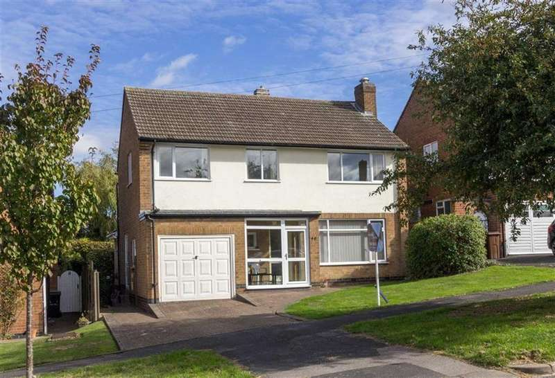 4 Bedrooms Detached House for sale in Woodbrook Road, Loughborough, LE11