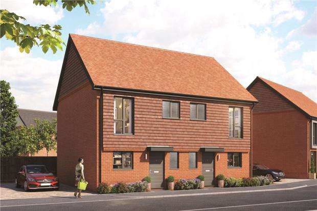 2 Bedrooms Semi Detached House for sale in Old Wokingham Road, Crowthorne, Berkshire