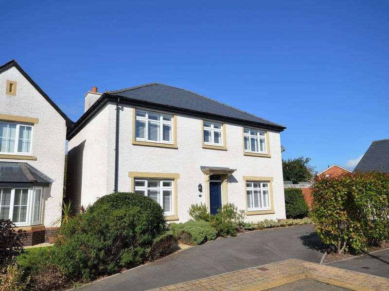4 Bedrooms Property for sale in Croesonen Gardens, Abergavenny