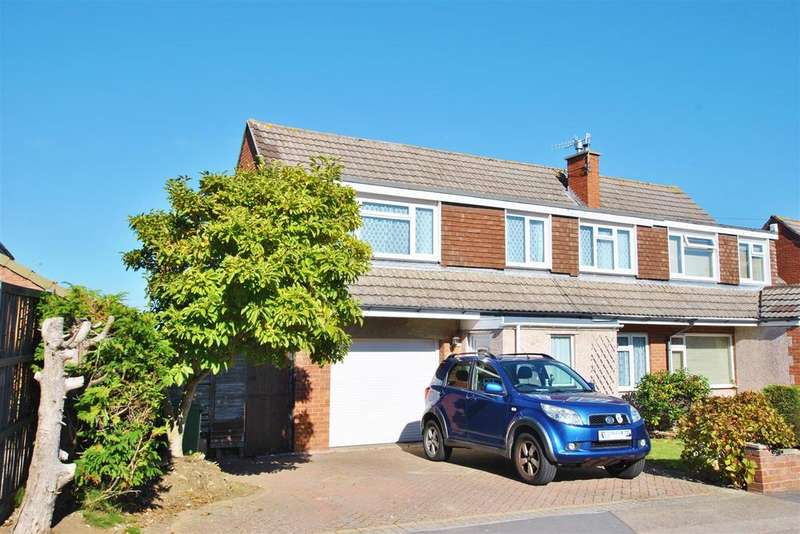 4 Bedrooms Semi Detached House for sale in Court Farm Road, Whitchurch
