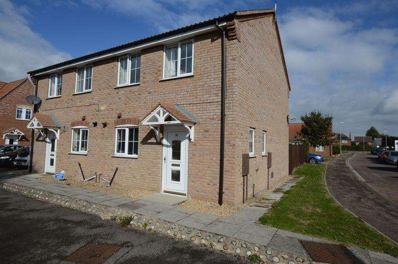 3 Bedrooms Semi Detached House for sale in 16 Curtis Drive, Coningsby