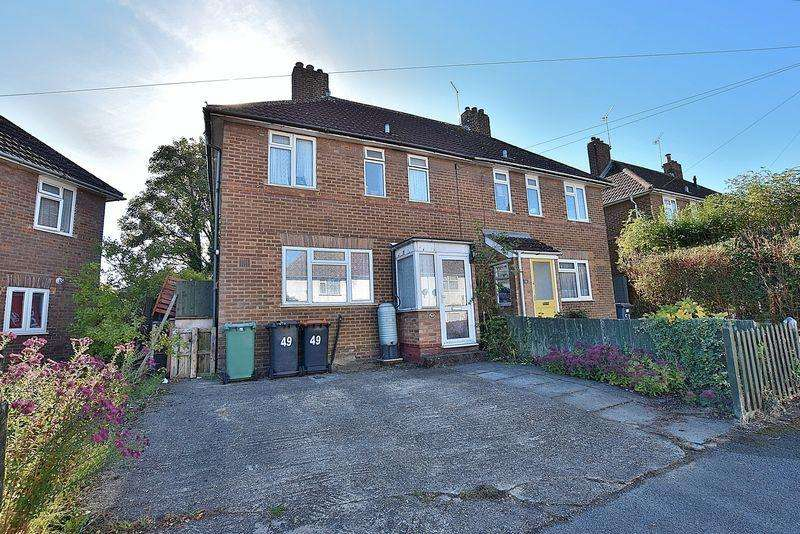 3 Bedrooms Semi Detached House for sale in Benning Avenue, West Dunstable