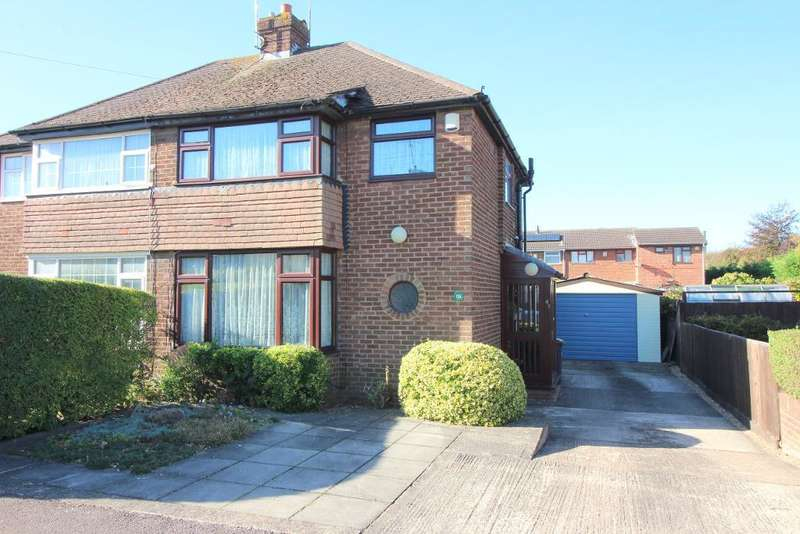 3 Bedrooms Semi Detached House for sale in Whitefield Avenue, Luton, Bedfordshire, LU3 3AQ