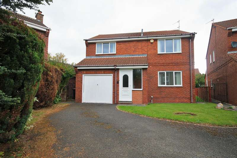 4 Bedrooms Detached House for sale in Copperfield, Merryoaks, Durham