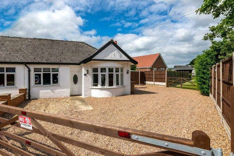 2 Bedrooms Semi Detached Bungalow for sale in Walcott Road, Billinghay, Lincoln, Lincolnshire, LN4