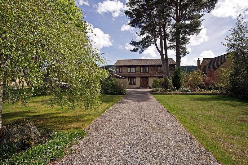 4 Bedrooms Detached House for sale in The Three Pines, 11 Morven Way, Ballater, Aberdeenshire