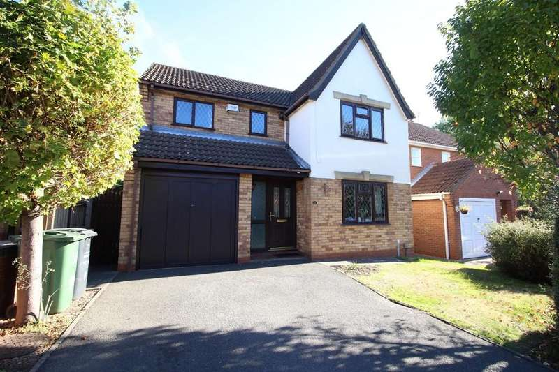 4 Bedrooms Detached House for sale in Clowbridge Drive, Loughborough