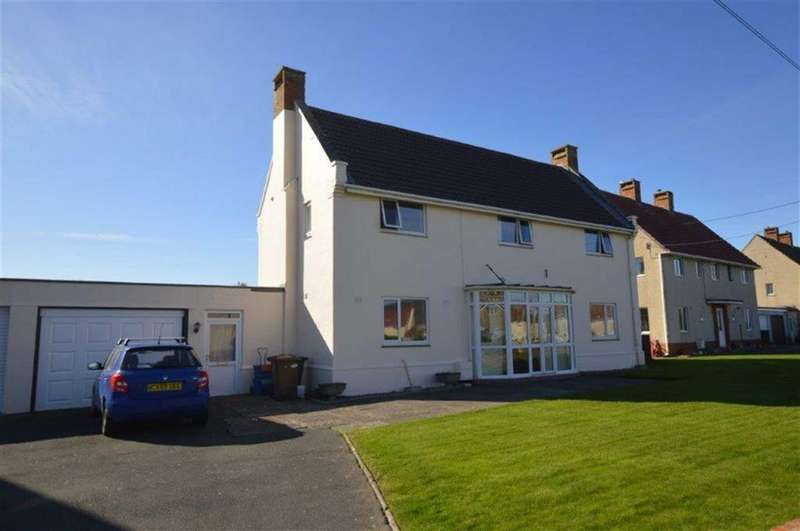 3 Bedrooms Detached House for sale in 2, Morfa Crescent, Tywyn, Gwynedd, LL36