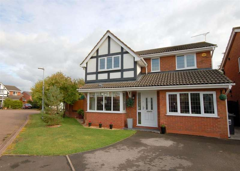 4 Bedrooms Detached House for sale in Three Large Beds, Could Quickly Be Made Back To Four, Harris Close, Leighton