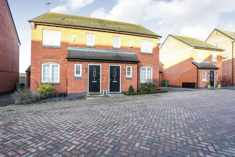 3 Bedrooms Semi Detached House for sale in Mill Field Avenue, Countesthorpe, Leicester, LE8