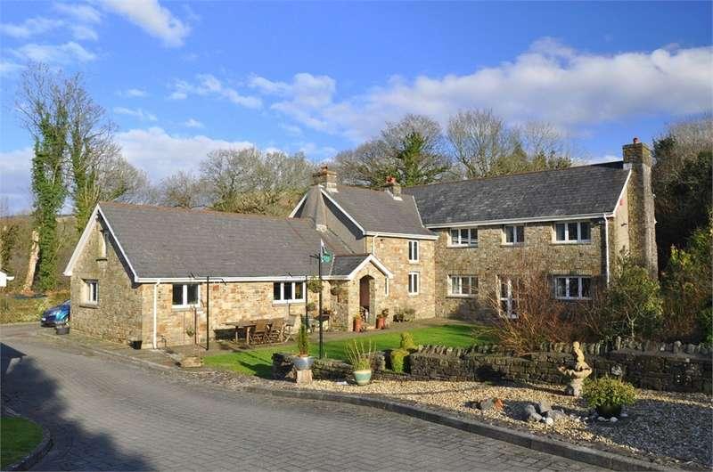 5 Bedrooms Detached House for sale in Tonybeili Farm, Station Road, Llangynwyd, Maesteg, Mid Glamorgan