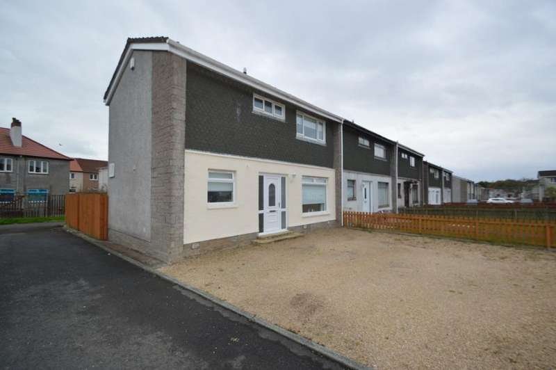 2 Bedrooms Terraced House for sale in Campbell Avenue, Stevenston, North Ayrshire, KA20 4BP